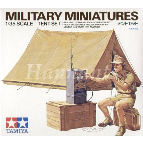 Tent Set and Afrika Korps radio operator LTD Re-issue