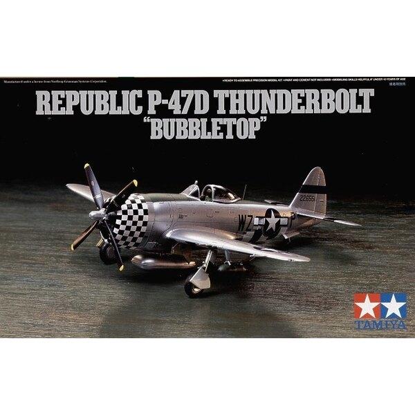Republic P-47D Thunderbolt Bubbletop canopy