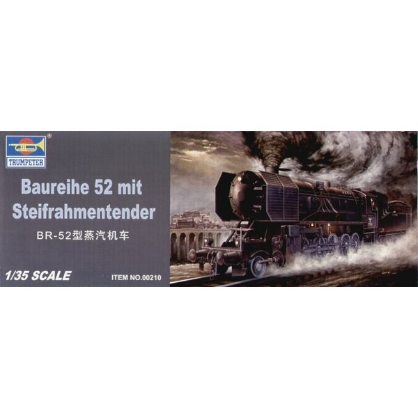BR 52 Kriegslocomotive Armoured Steam Loco with Steifrahmentender (see CMF35066 CMF35067 and CMF35068 for useful figures to go w