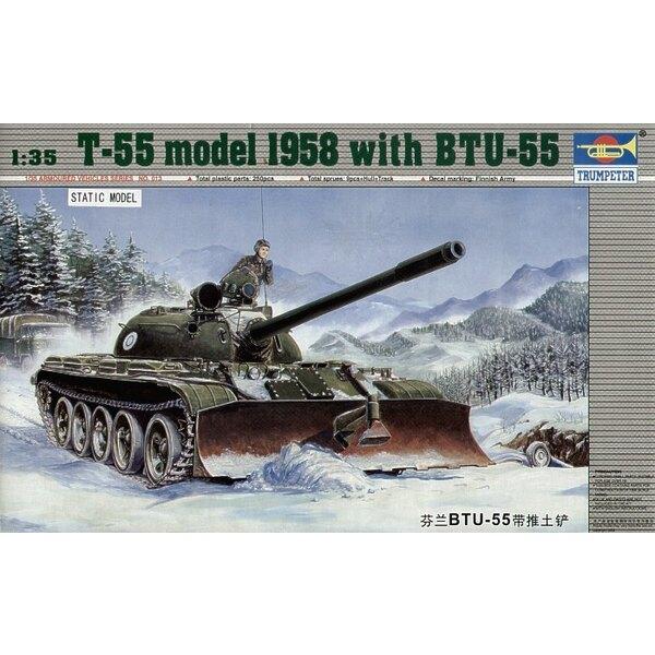 T-55 model 1958 with BTU-55