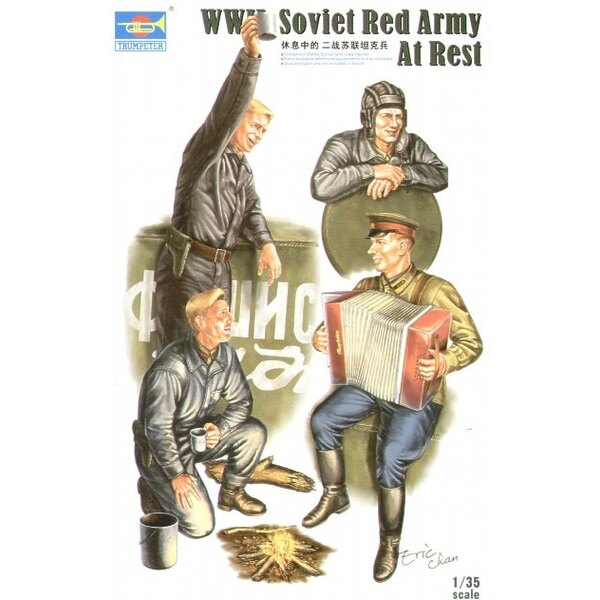 WWII Soviet Tank Soldiers