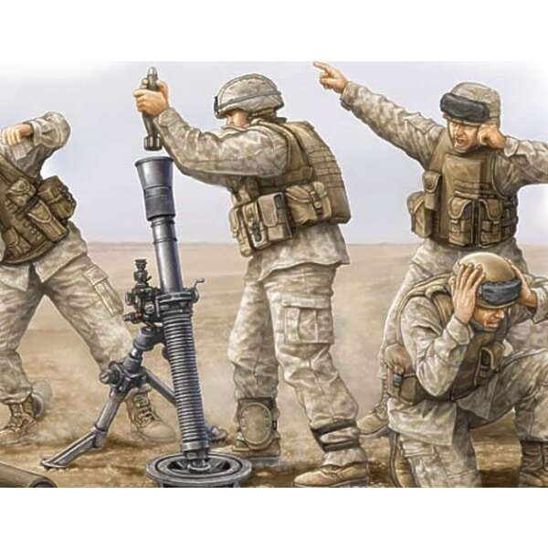 USMC M252 Mortar Crew