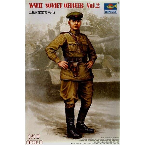 Soviet Officer Figure