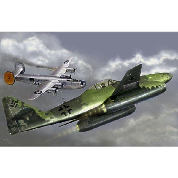 Messerschmitt Me 262A-1a with Kettenkrad