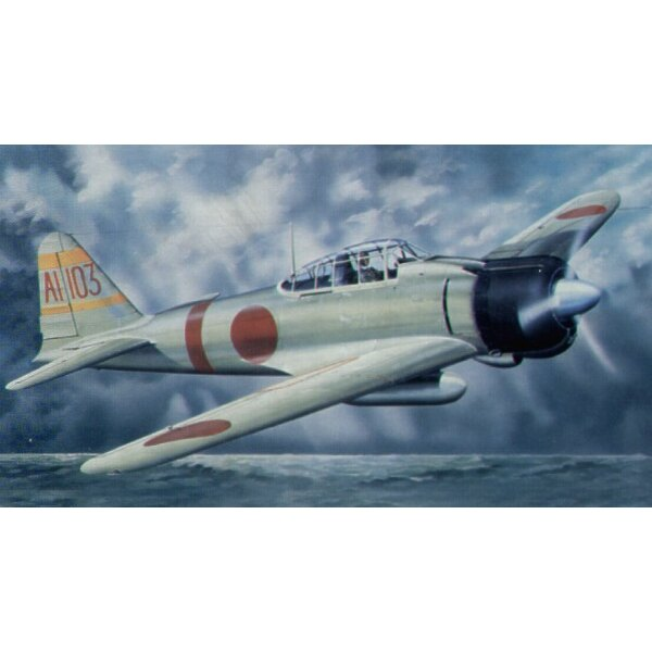 Mitsubishi A6M2b Model 21 Zero Fighter