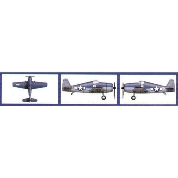 Grumman F6F Hellcat (6 per box)
