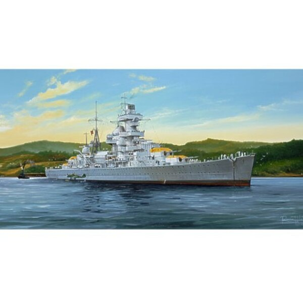 Admiral Hipper German Cruiser 1941