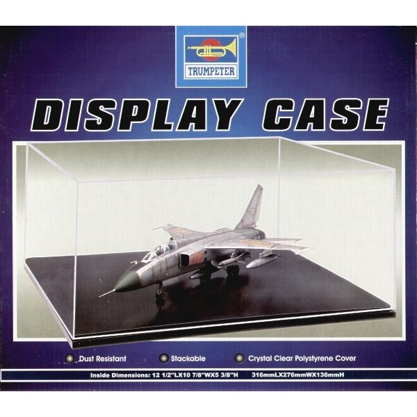 Display Case 316mmL x 276mmW x 136mmH