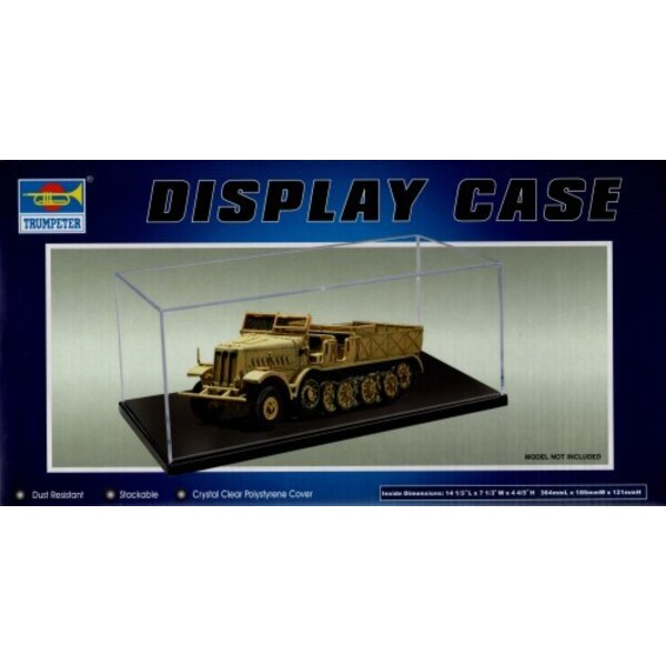 Display Case 364 x186 x 121mm