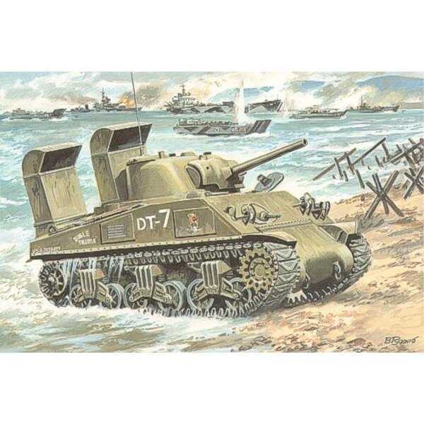M4A3 Sherman with Deep Wading Trunks