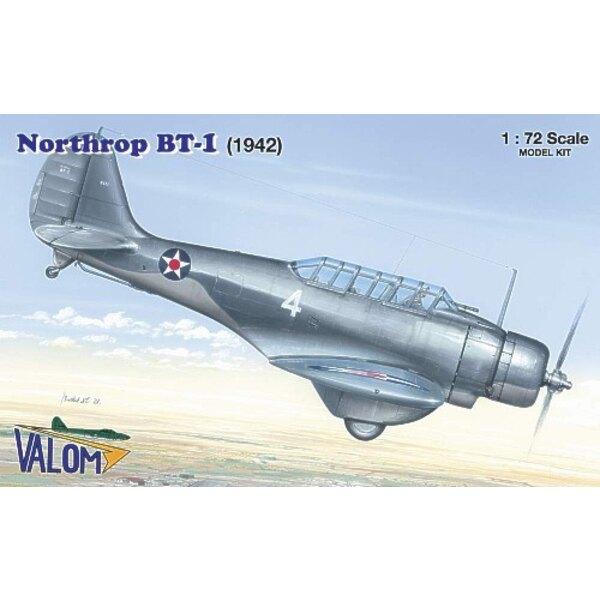 Northrop BT-1 Decals: Bu.Aer 0621 NAS Miami Spring 1942 and Bu.Aer 0633 Air Group Commander USS Yorktown Spring 1941