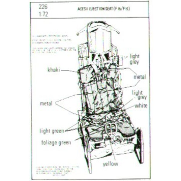 ACES II ejector seats