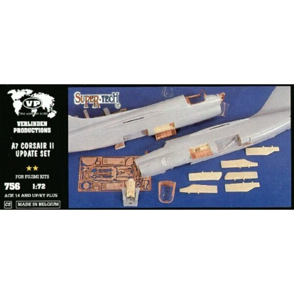 Vought A-7 Corsair Update Set (designed to be assembled with model kits from Fujimi)