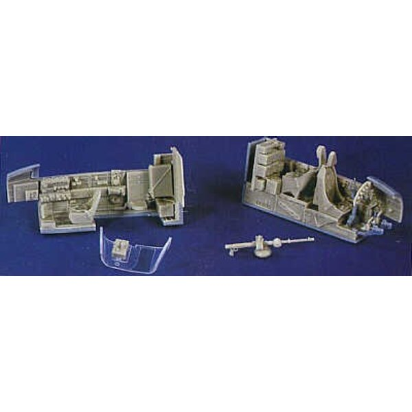 Junkers Ju 88 superdetail set for the Monogram or Revell kits (designed to be assembled with model kits from Monogram)