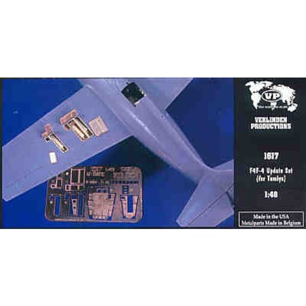 Grumman F4F Wildcat detail set (designed to be assembled with model kits from Tamiya)