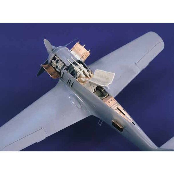 Focke Wulf Fw 190A-5/8 detail set (designed to be assembled with model kits from Hasegawa)
