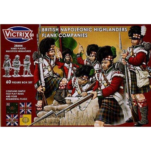 British Higlander Flank Companies