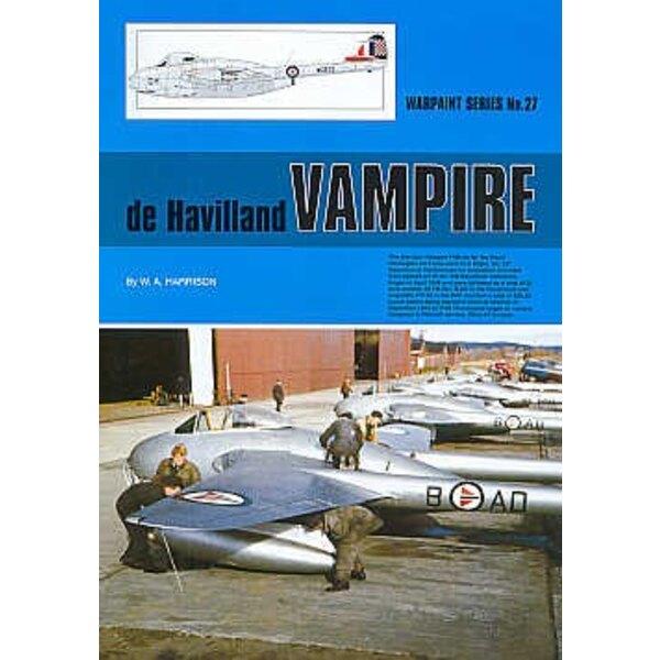 de Havilland Vampire (Hall Park Books Limited)