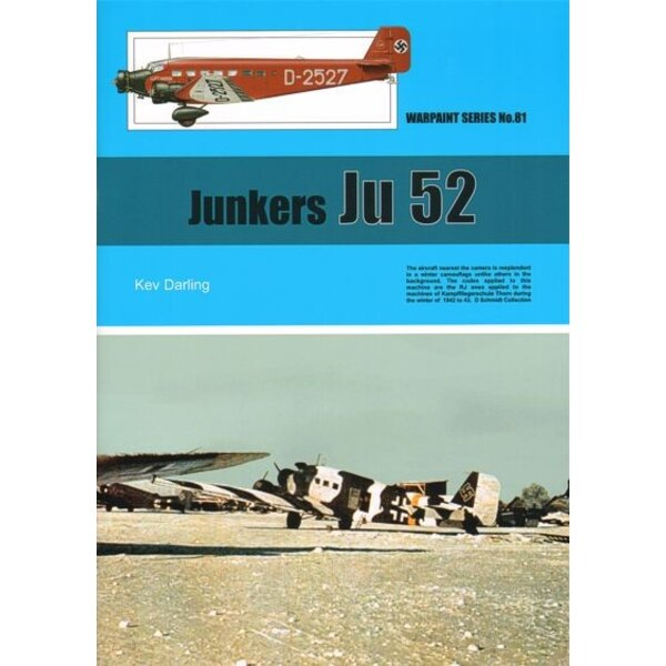 Book Junkers Ju 52 by Kev Darling
