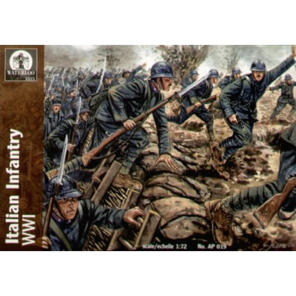 Italian Infantry WWI (40 men)