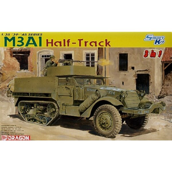 M3A1 Half-Track (3 in 1)