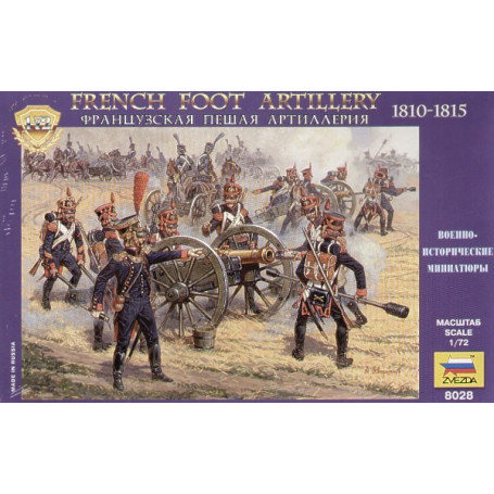 French Foot Artillery 1812-14