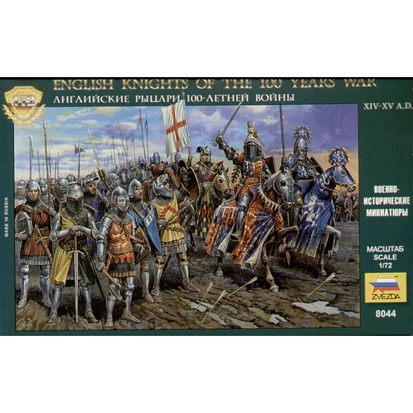 English Knights 100 Years War