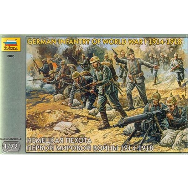 German Infantry WWI