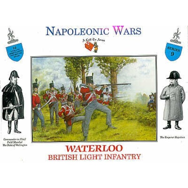 British Infantry Waterloo 16 figures