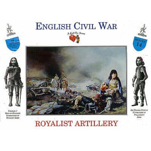 Royalist Artillery 16 figures