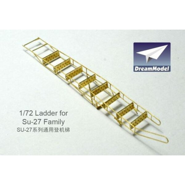 Ladder for Sukhoi Su-27 Family (designed to be used with model kits from Hasegawa)