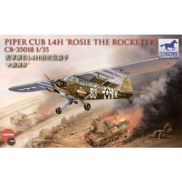 Piper Cub L4H `Rosie The Rocketeer′