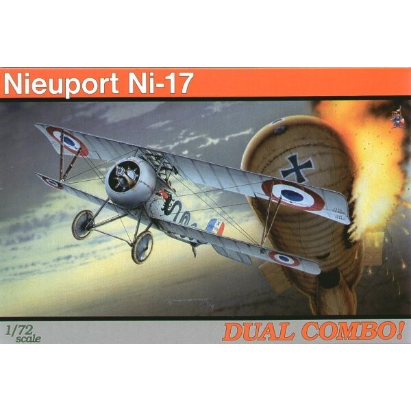 Nieuport 17 DUAL COMBO (makes 2 complete)