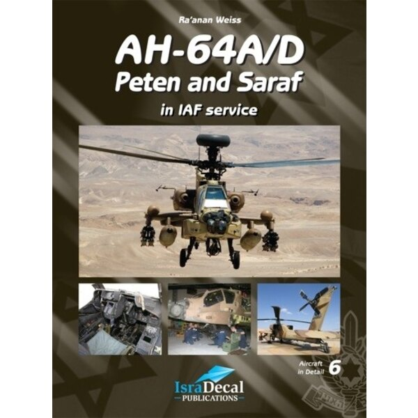 Book Boeing Apache AH-64A/D Apache Peten and Saraf Israeli Defence Force/IAF
