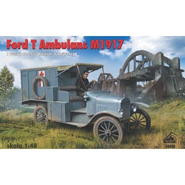 Ford T - Ambulance M.1917