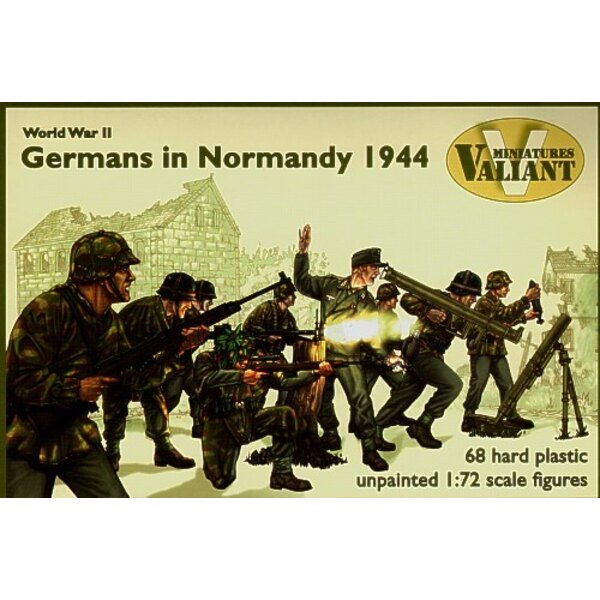 German Infantry Normandy 1944