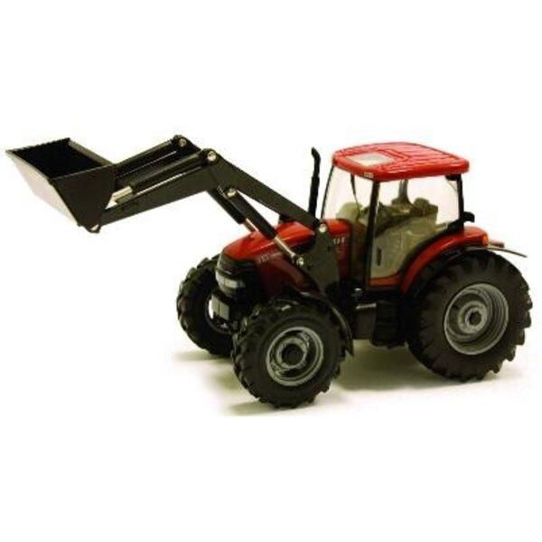 Tractor + Loader Case IH 110 1:32