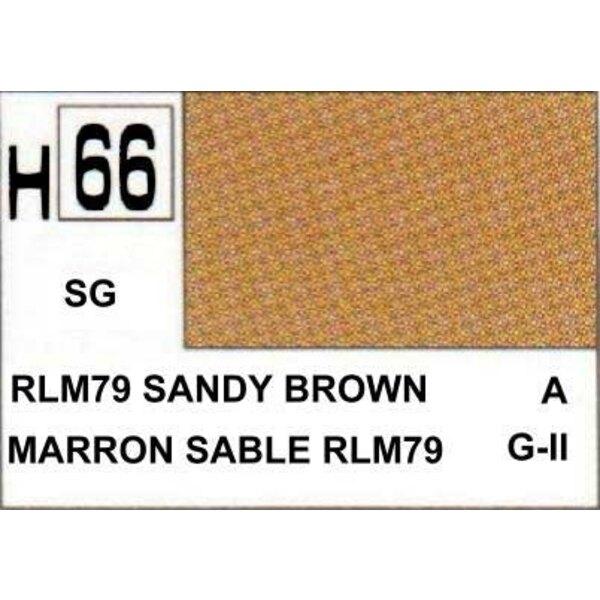 H066 Sand Brown matt