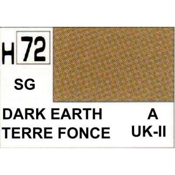 H072 Dark Earth matt