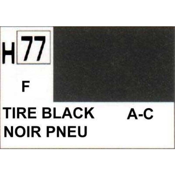 H077 Fire Black matt