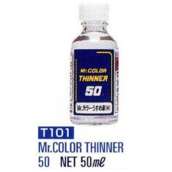 T101 Thinner 50 ml (2 floz) Enamel