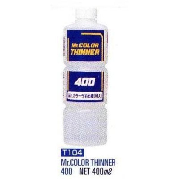 T104 Thinner 400 ml (16floz) Enamel
