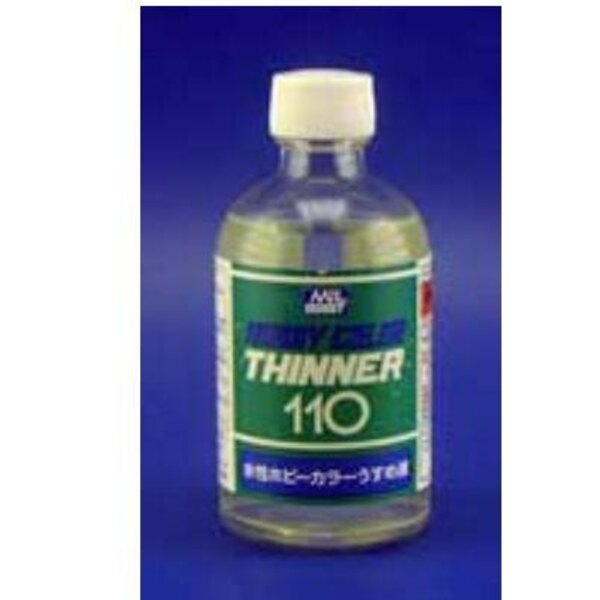 T110 Acrylic Thinner 110 ml (4 floz)