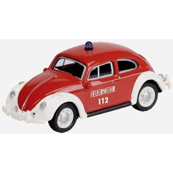 VW Beetle Firefighters 1:87