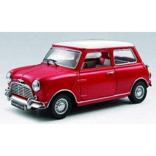 Red Mini Cooper 1275Se 1:18