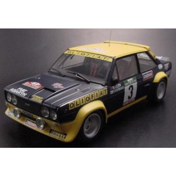 Fiat 131 Abarth Fiat Olio 1:18