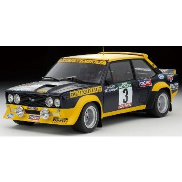 Fiat 131 Acropolice 81 1:18