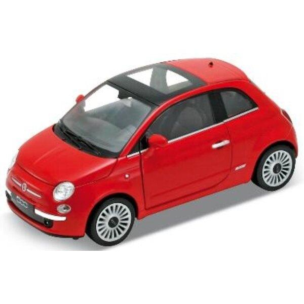 Fiat 500 2007 1:24