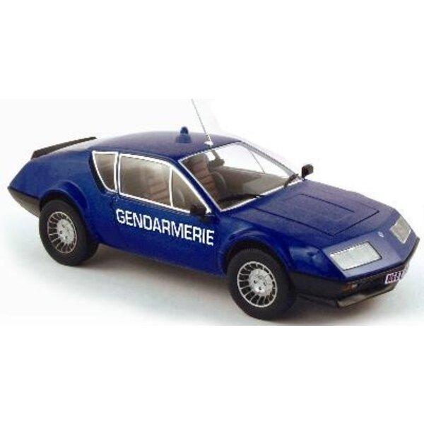Alpine A310 French Gendarmerie 8 1:18