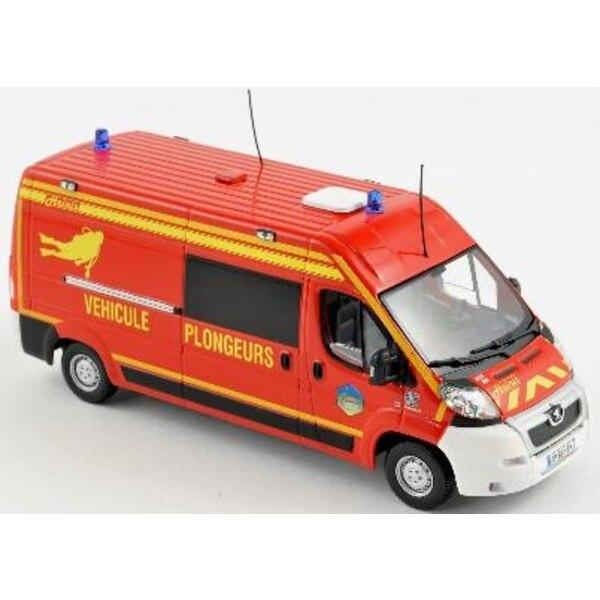 Peugeot Boxer 2010 Firefighter 1:43